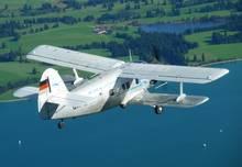 Oldtimer-Rundflug über die Ammersee-Region