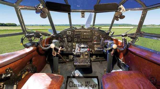 Cockpit Doppeldecker AN-2