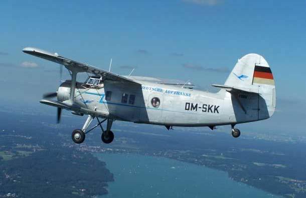 Antonov AN-2 von Classic Wings Bavaria